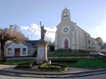 Eglise Châteauneuf la Forêt(5)